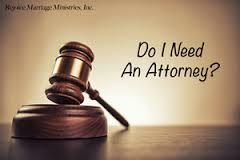 مقایسه بین داشتن و نداشتن وکیل